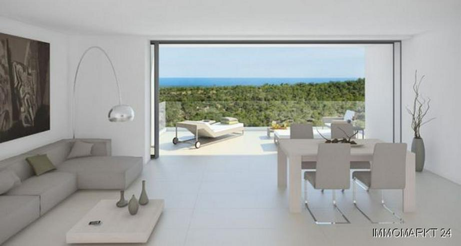 Luxus-Penthouse-Wohnungen mit Meerblick in exklusivem Golf Resort - Bild 1