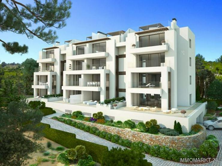Bild 2: Luxus-Penthouse-Wohnungen mit Meerblick in exklusivem Golf Resort