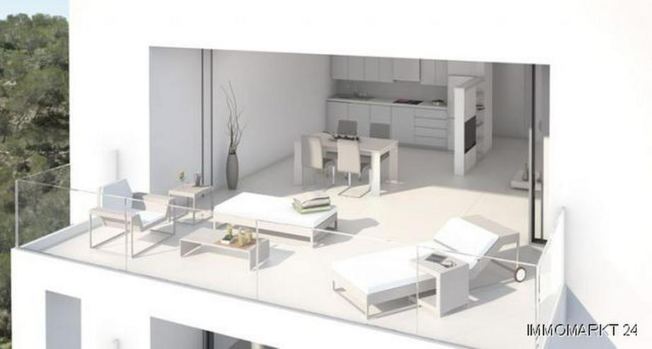 Bild 3: Luxus-Penthouse-Wohnungen mit Meerblick in exklusivem Golf Resort