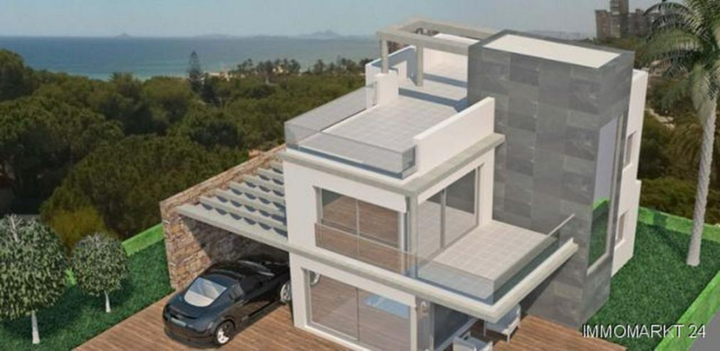 Exklusive Neubau-Villen mit Privatpool nur 600 m vom Strand - Bild 1