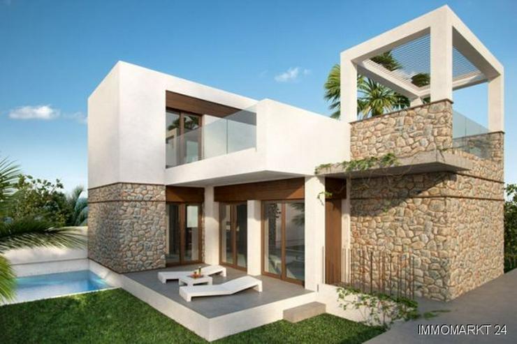 Moderne und komfortable 4-Zimmer-Villen mit Natursteinelementen