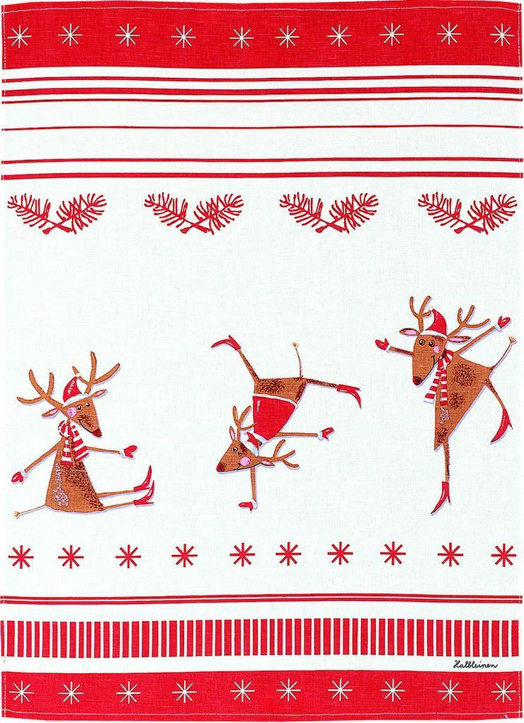 Kracht - Geschirrtuch Tanzende Elche