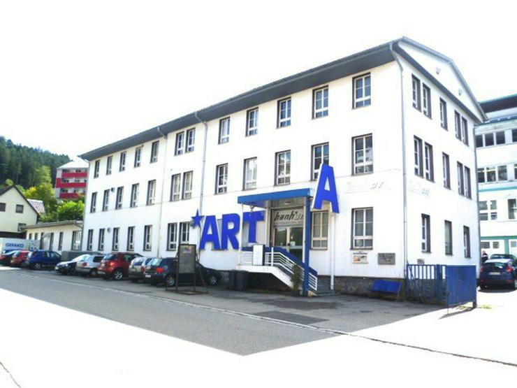 Nur 266,- ¤ Kaufpreis/m² Wohn-/Nutzfläche Ehemalige Uhrenfabrik: Wohn- und Gewerbehaus... - Gewerbeimmobilie kaufen - Bild 1