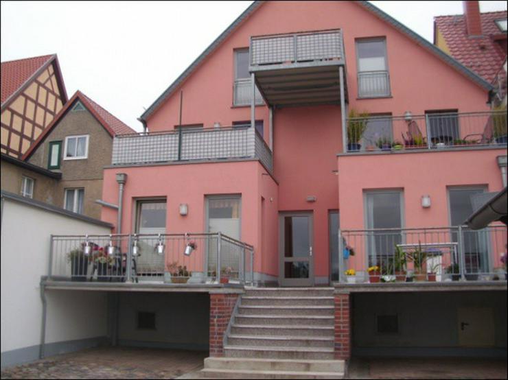 Zweizimmerwohnung mit Terrasse und Hafenblick