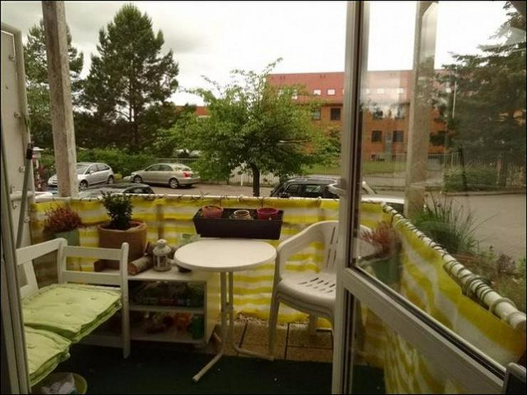 Bild 8: 1-Raum-Wohnung mit Balkon im Erdgeschoss nahe der Innenstadt und dem Klinikum