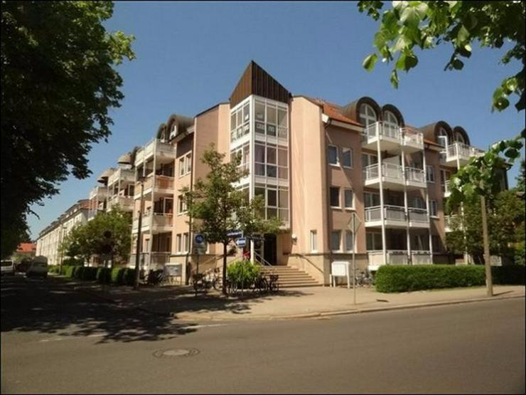 Bild 1: 1-Raum-Wohnung mit Balkon im Erdgeschoss nahe der Innenstadt und dem Klinikum