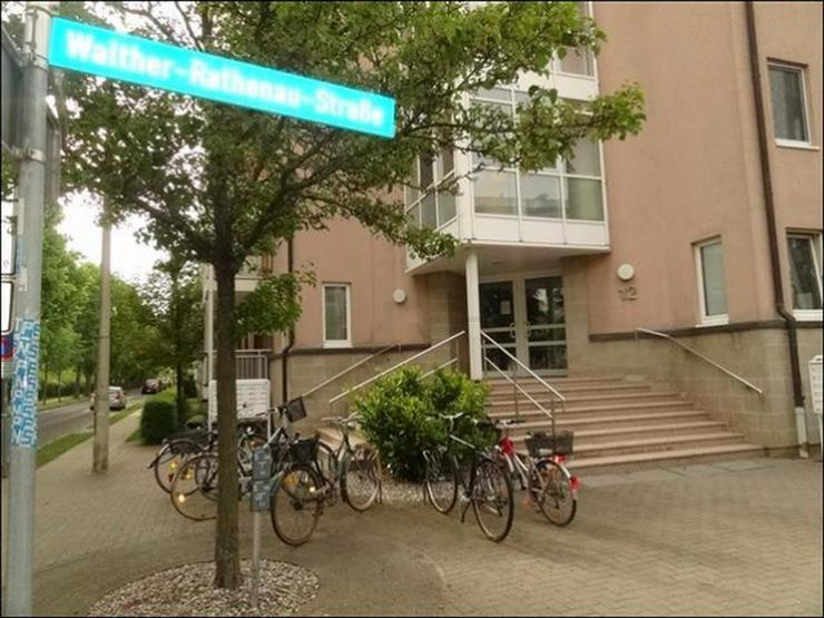Bild 4: 1-Raum-Wohnung mit Balkon im Erdgeschoss nahe der Innenstadt und dem Klinikum