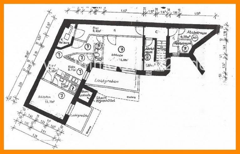 Bild 6: S O F O R T - F R E I E Apartments mit zusammen 5 1 m² zum Grünen Innenhof nahe ROSENAUP...
