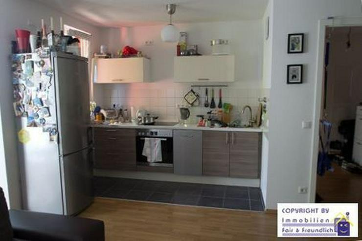 Bild 4: *IHR NEUES WOHLFÜHLHEIM! Neubau, hochw. 2-Zi. mit Sonnenbalkon und offener Küche*