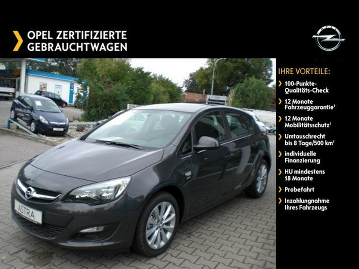 OPEL Astra 1.4 Parkpilot - Sitz-/Lenkradhzg, Klimaautomatik - Astra - Bild 1