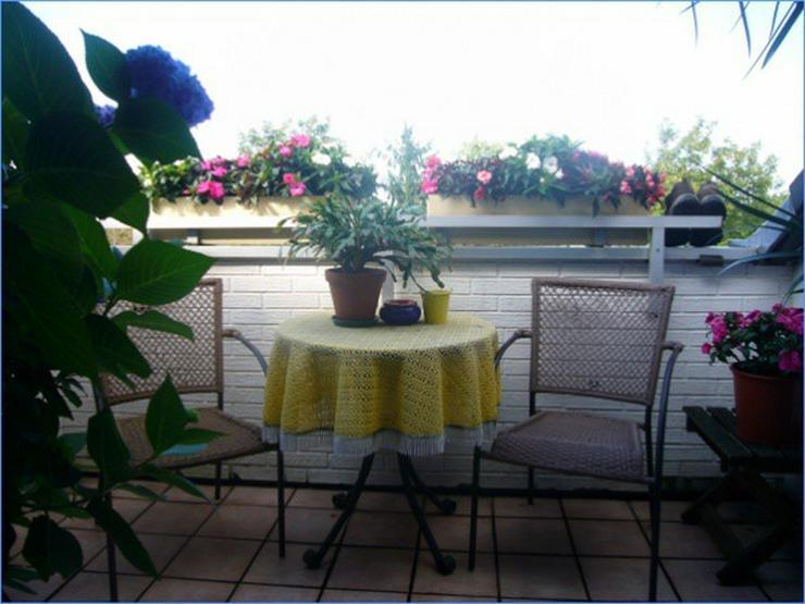 Gemütlich und schick: Sonnige Dachgeschoss-Wohnung mit herrlichem Ausblick! ***Erbpachtob... - Wohnung kaufen - Bild 1