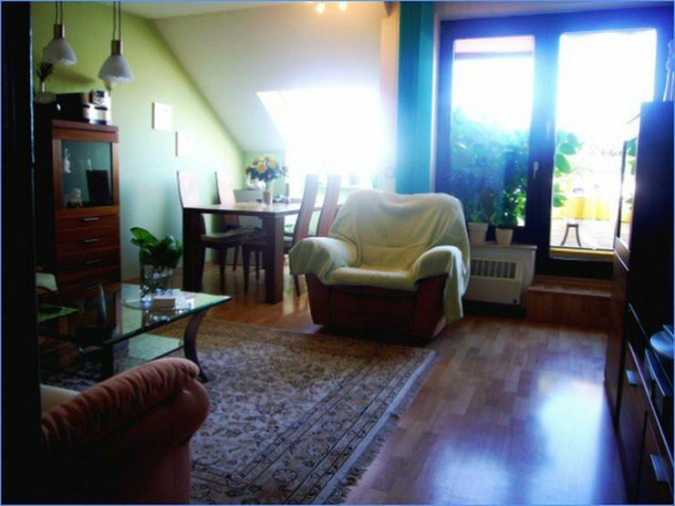 Bild 3: Gemütlich und schick: Sonnige Dachgeschoss-Wohnung mit herrlichem Ausblick! ***Erbpachtob...