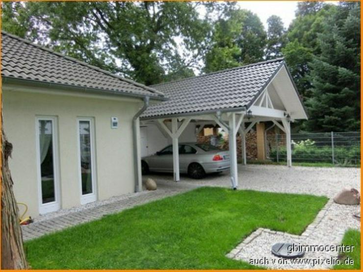 Bild 4: BUNGALOW, Schwellenlos mit Ausbaureserve - Wintergarten möglich - im WANDLITZER Seengebie...