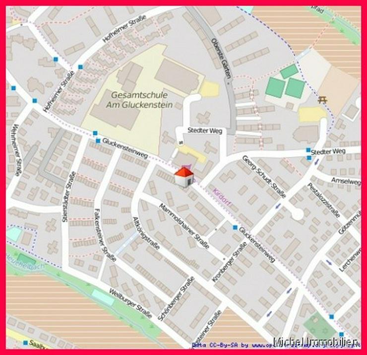 ** Blick über Bad Homburg ** Schick sanierte, barrierefreie 2-Zi. ETW mit Loggia Nähe In... - Wohnung kaufen - Bild 1