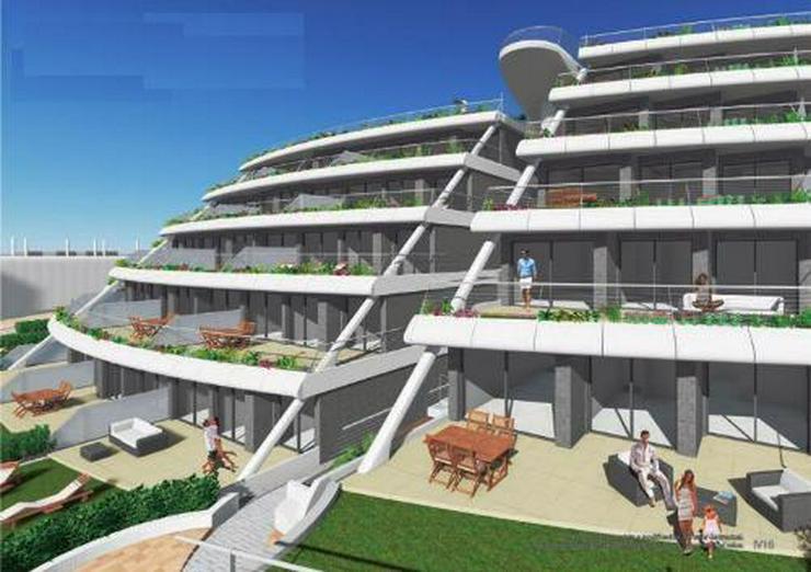 4-Zimmer-Penthouse-Wohnungen mit atemberaubendem Meerblick nur 250 m vom Strand - Bild 1