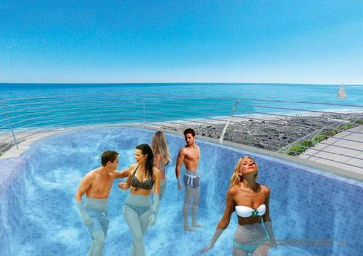 Bild 4: 4-Zimmer-Penthouse-Wohnungen mit atemberaubendem Meerblick nur 250 m vom Strand