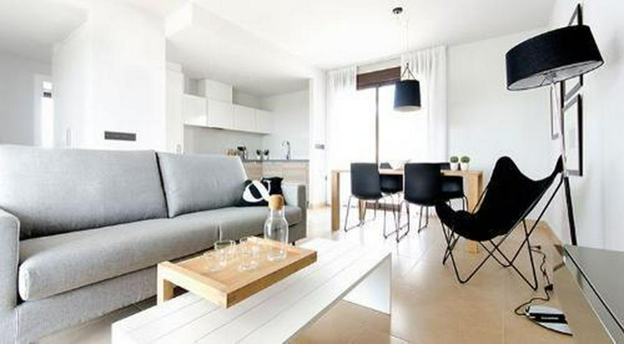 Bild 3: Moderne Obergeschoss-Appartements mit Gemeinschaftspool in sehr schöner Golfanlage