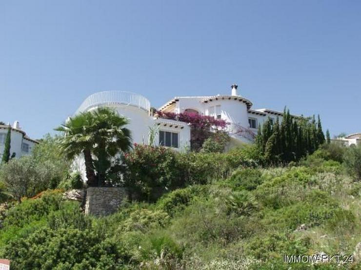 Villa mit traumhaftem Meerblick, Pool und Garage am Monte Pego - Bild 1
