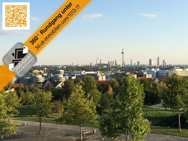 Riedberg von seiner besten Seite - mit Blick zur Skyline