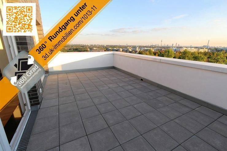 Bild 4: Riedberg von seiner besten Seite - mit Blick zur Skyline