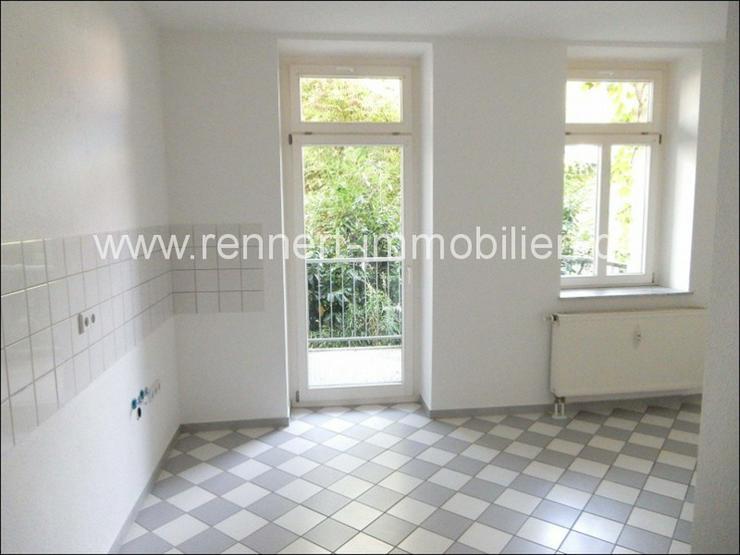 Bild 5: -> Gemütliche 2-Raumwohnung mit Balkon und Einbauküche nähe Abtnaundorfer Park