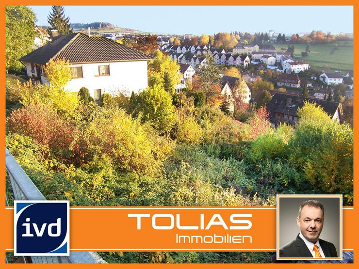 Zentrumsnah mit Fernsicht - 1-4 Familienhaus möglich - Baugrundstück in sonniger und exp... - Grundstück kaufen - Bild 1