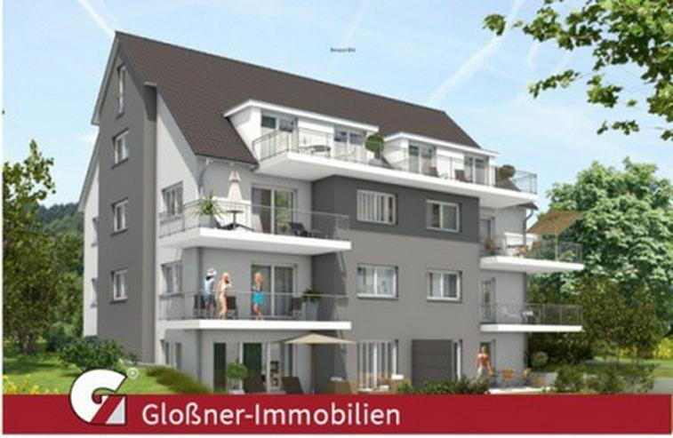 NEUBAU - Barrierefreies Wohnen mit wunderschönem Waldblick, Gartenanteil in Winkelhaid-Pe... - Wohnung kaufen - Bild 1