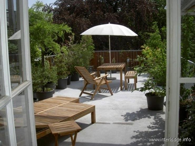 Bild 4: INTERLODGE Modern möbliertes Top-Apartment mit 2 Terrassen und Garten in Düsseldorf-Pemp...