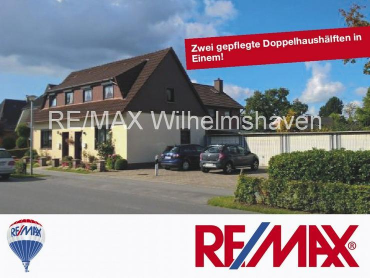 REMAX bietet an: Zwei gepflegte Doppelhaushälften in Einem - Haus kaufen - Bild 1