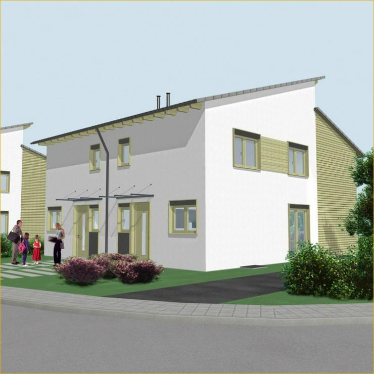 Bild 2: Schöne Neubau Doppelhaushälfte in Schlierbach + 2 Terrassen + Tageslichtbad