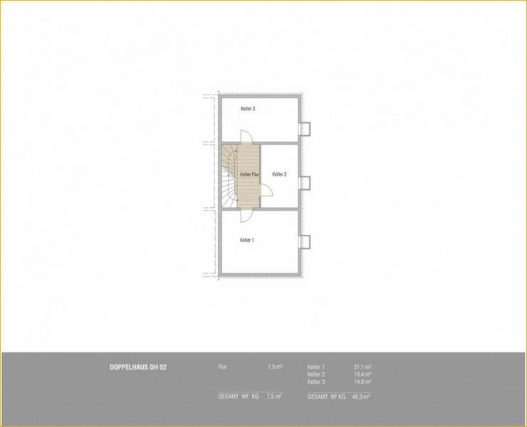 Bild 4: Schöne Neubau Doppelhaushälfte in Schlierbach + 2 Terrassen + Tageslichtbad
