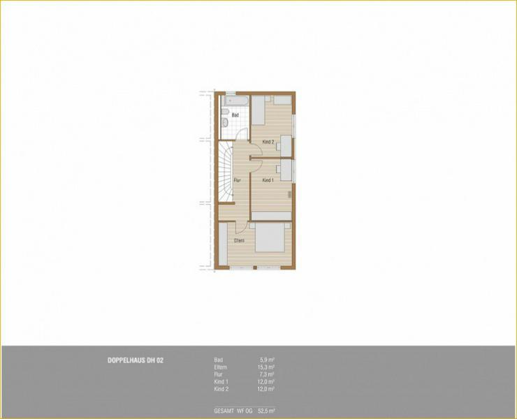 Bild 6: Schöne Neubau Doppelhaushälfte in Schlierbach + 2 Terrassen + Tageslichtbad