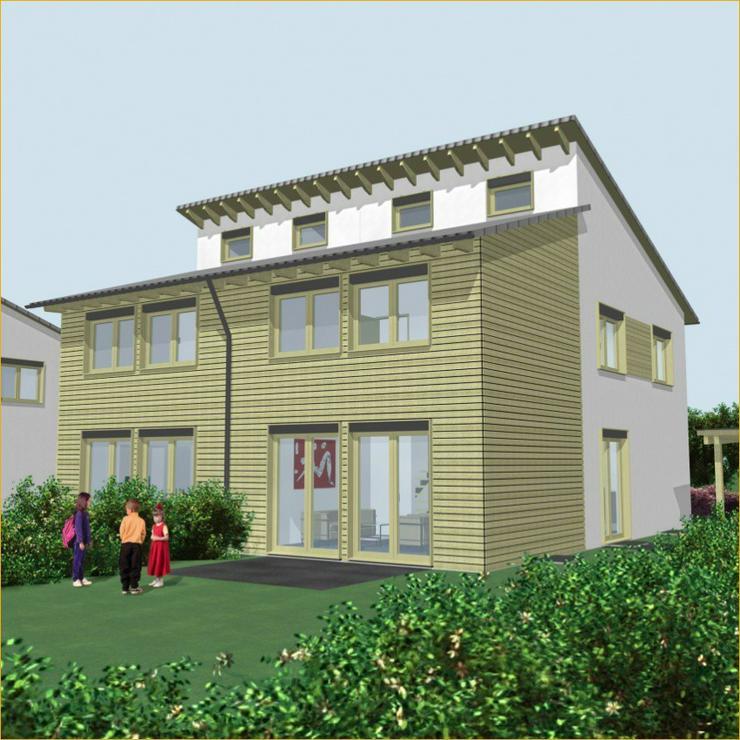 Schöne Neubau Doppelhaushälfte in Schlierbach + 2 Terrassen + Tageslichtbad - Bild 1