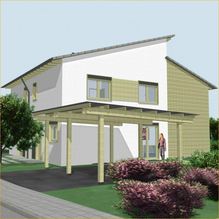 Bild 3: Schöne Neubau Doppelhaushälfte in Schlierbach + 2 Terrassen + Tageslichtbad