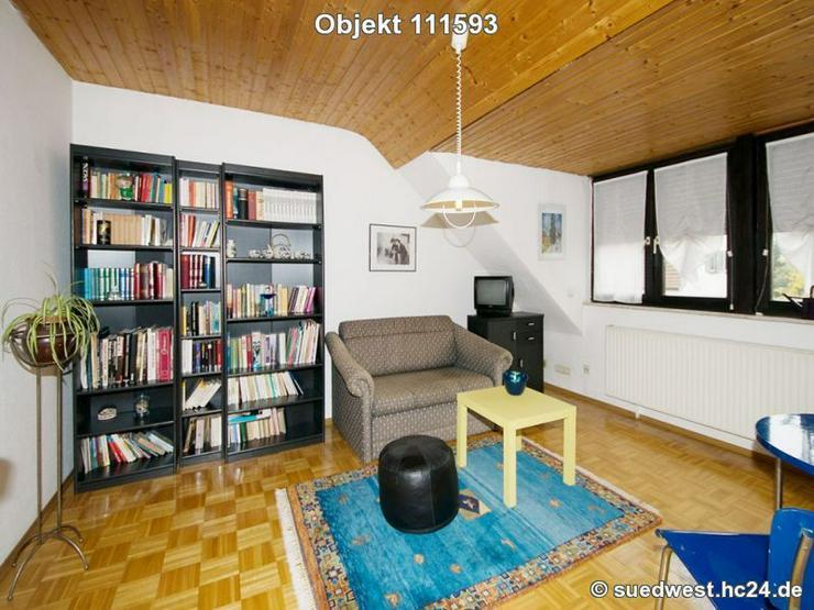 Ludwigshafen-Mitte: 2,5-Zimmer-Wohnung im Dachgeschoss auf Zeit zu mieten