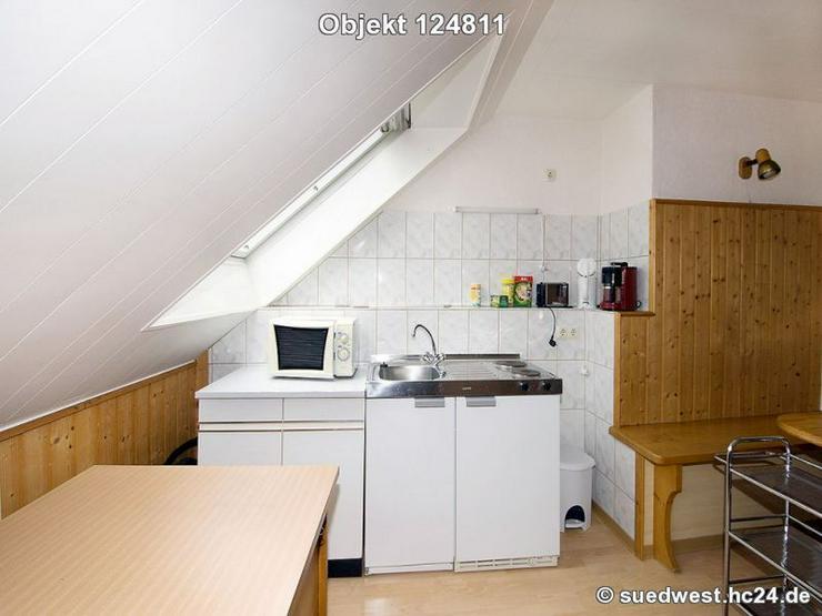 Bild 3: Darmstadt-Eberstadt: Möblierte helle 1-Zimmerwohnung
