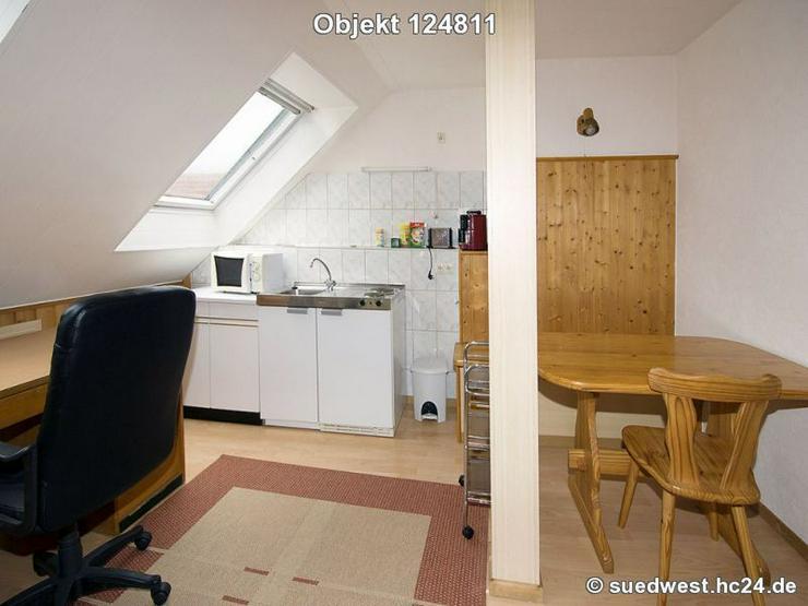 Bild 4: Darmstadt-Eberstadt: Möblierte helle 1-Zimmerwohnung