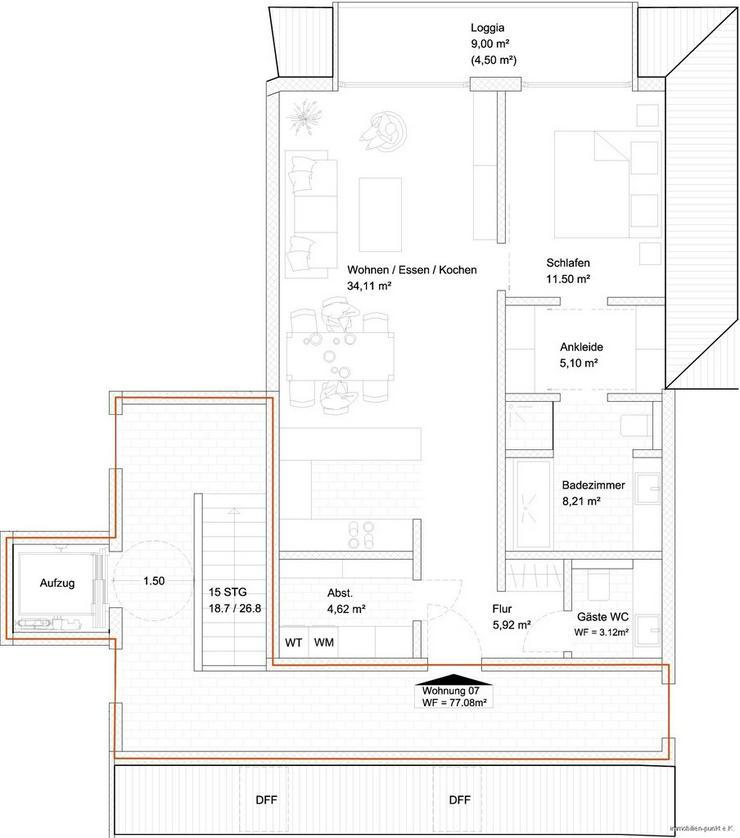 Bild 7: Sonderpreise zum Verkaufsstart - Penthousewhg. mit 2 Zi.