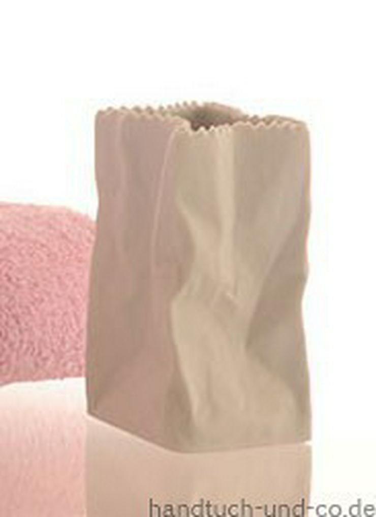 Rosenthal Tütenvase weiß matt 10 cm