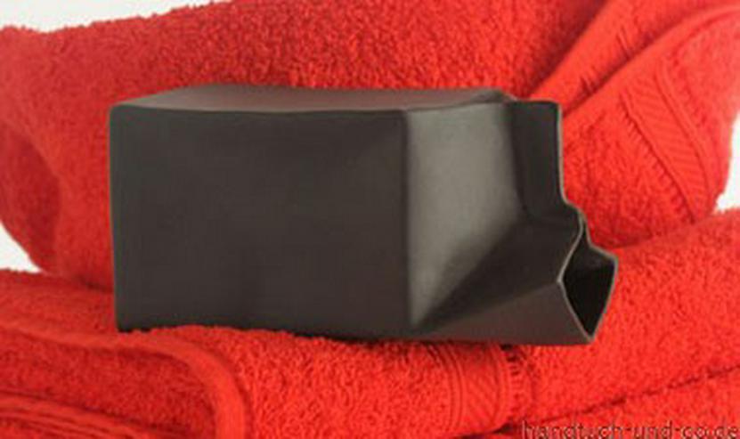 Rosenthal Milchtüte Paco Bello schwarz 14 cm