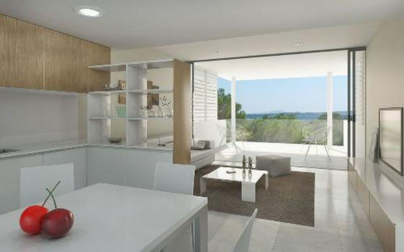 Bild 1: Klassische und stilvolle 3-Zimmer-Wohnungen in exklusivem Golf-Resort