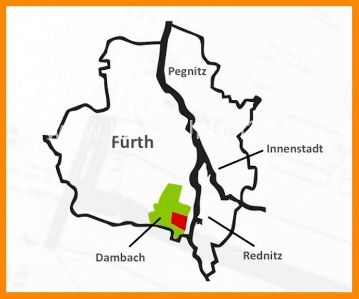Bild 2: 7 0 5 qm VORSORGE Immobilie in Fürth DAMBACH mit 2 4 0 qm PENTHOUSE zur Eigennutzung