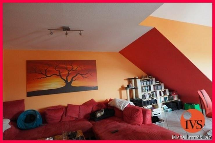 Bild 2: Schöne 3 Zi.- DG Wohnung in idyllischer Lage mit Loggia, Stellplatz und Keller!