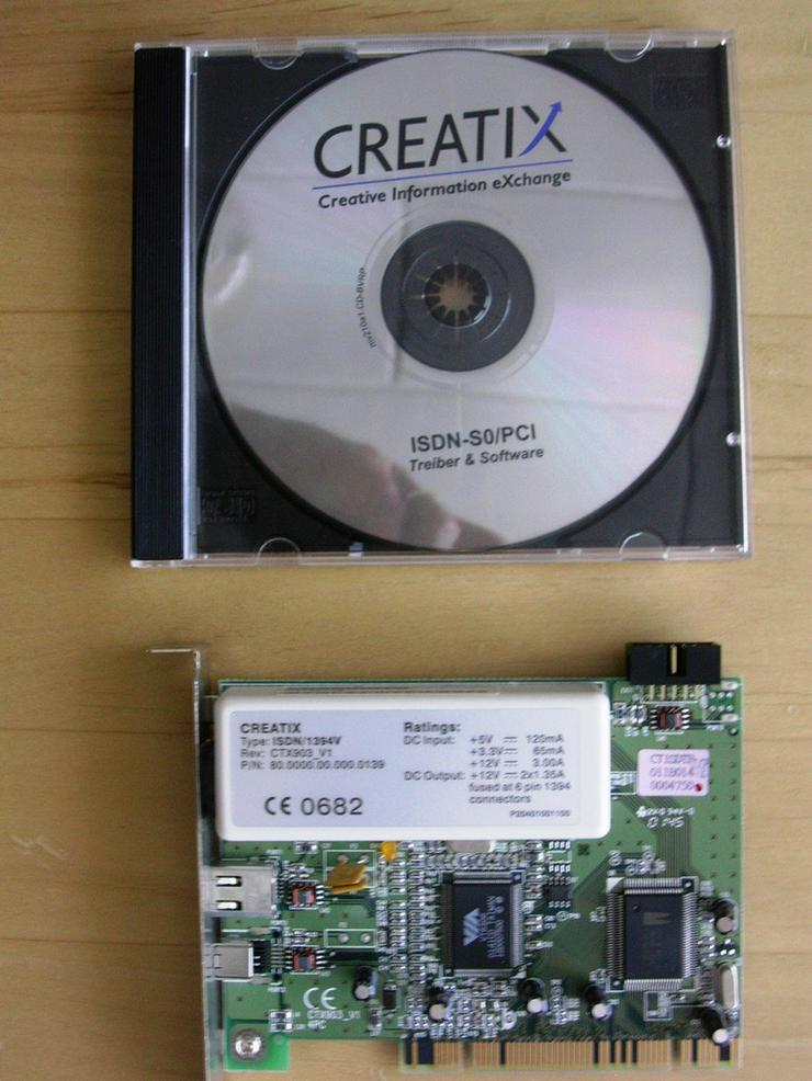 CREATIX ISDN -SO/PCI