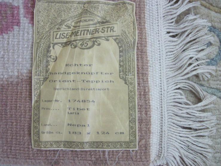 Bild 4: Echter handgeknüpfter Orient-Teppich