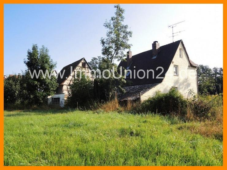"""R E S T H O F am Tor zur """"FRÄNKISCHEN SCHWEIZ"""" auf 14.414 qm Grund + großer Scheune + Au... - Haus kaufen - Bild 1"""
