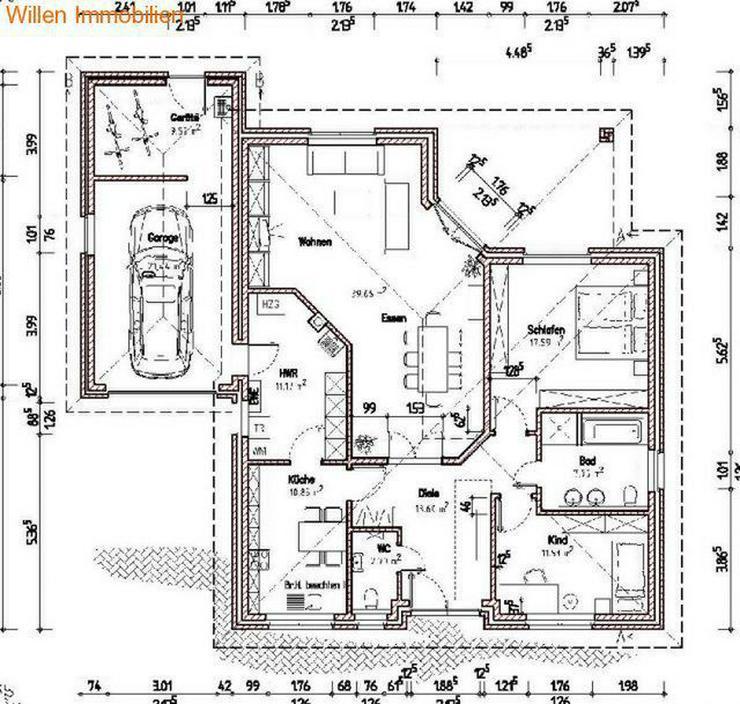 Bild 15: Provisionsfrei: Neubau-Winkelwalmdach-Bungalow mit exklusiver Ausstattung