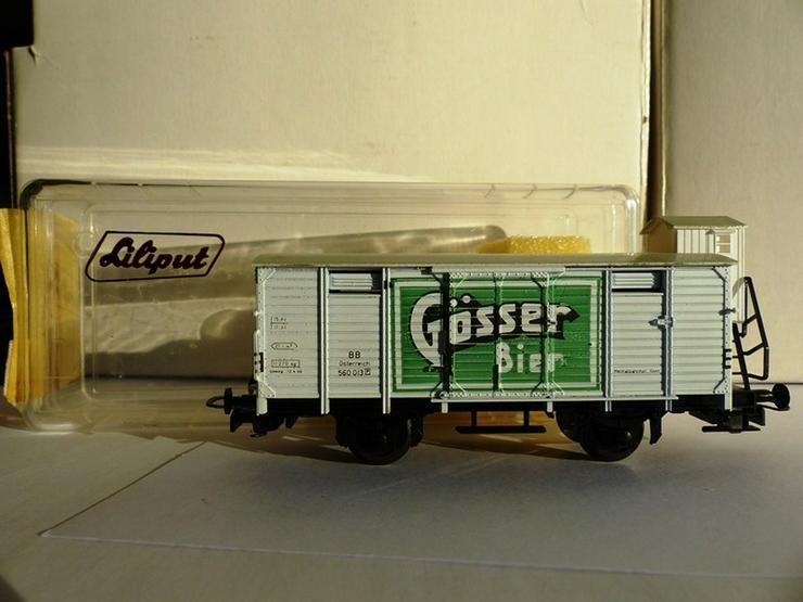 Bild 5: Set mit 5 LILIPUT-Güterwagen in optim. Zustand