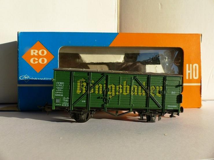 SET sind 12 St. ROCO-Güterwagen Top-Zustand - Spur H0 - Bild 1