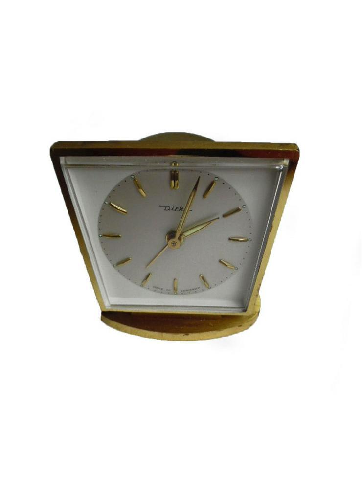 Seltene Tischuhr von Diehl - 50er Jahre - Uhren - Bild 1